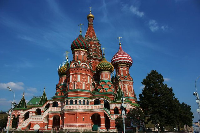 Red Square, Moscow - Flickr CC quiltsalad