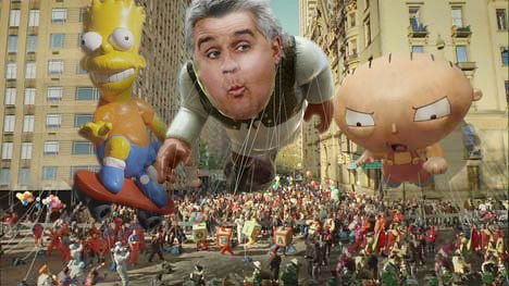 Jay Leno Parade Float