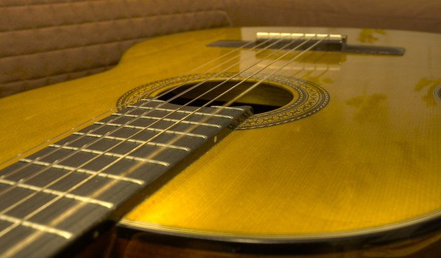 Photo:Classical Guitar HDR By karol.cc