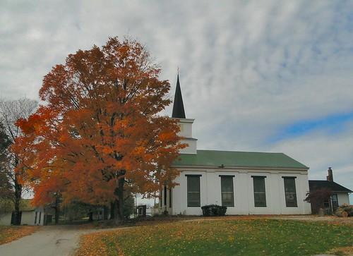 autumn sky tree fall church indiana foliage smalltown presbyterian livonia countrychurch washingtoncounty dschx1 leafcam