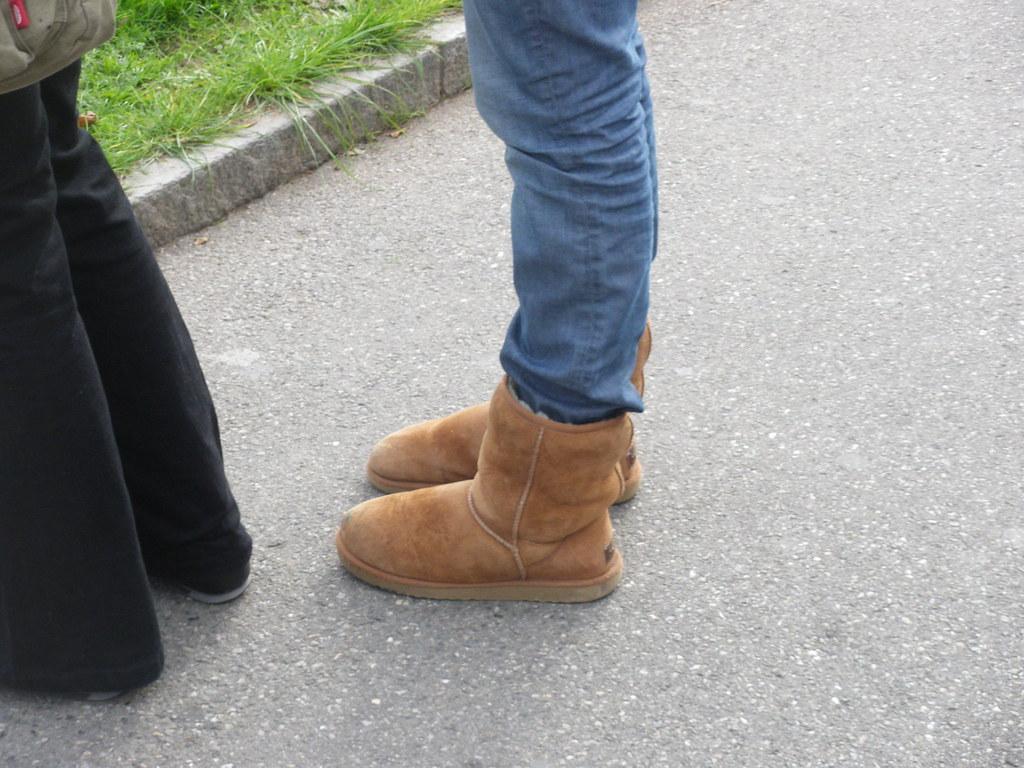 Geneva - Switzerland - 01/11/2009 - So many girls, so many ugg boots! Some love them like their partners!