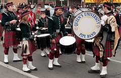 musical ensemble(0.0), marching(0.0), hand drum(0.0), bagpipes(0.0), festival(1.0), marching band(1.0), drummer(1.0), musician(1.0), parade(1.0), musical instrument(1.0), drum(1.0),