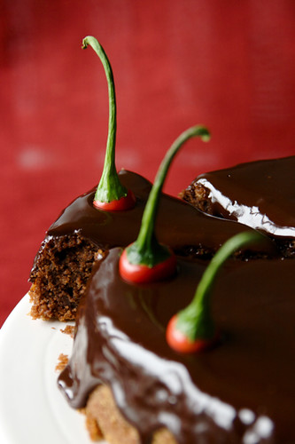 Chili & Chocolate Cake