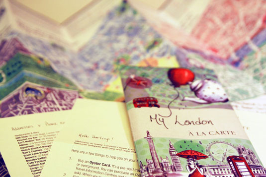 A la Carte Maps, London
