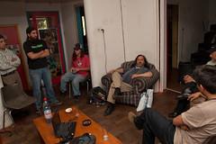 Stallman hablandonos
