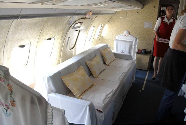 First Class Section In Air Koryo Tu 154 North Korean