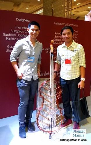 Connession Chief Designer Joseph Rastrullo & Blogger Manila