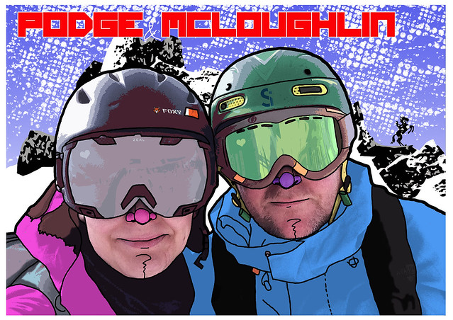 Photo:Podge and Mcloughlin By id-iom