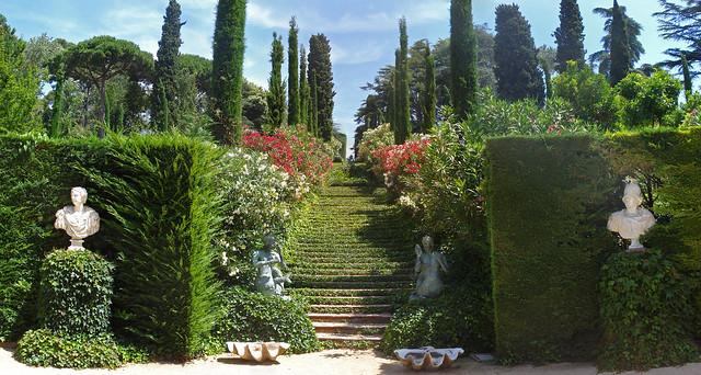 Steps jardins de santa clotilde lloret de mar flickr for Jardines de santa clotilde