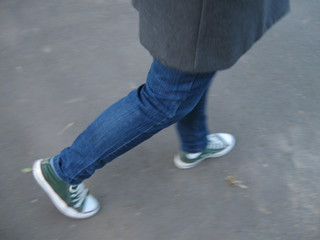 To go on foot