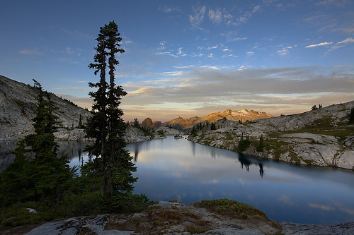 Robin Lakes Sunrise