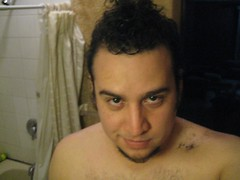 nose, chest, face, facial hair, hairstyle, barechestedness, skin, male, man, head, muscle, hair, chest hair, cheek, mouth, eyebrow, forehead, boy, beard, organ,