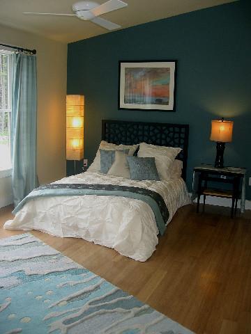 Green Bedroom Design by Julie Brady, Details Inc  | Sustaina