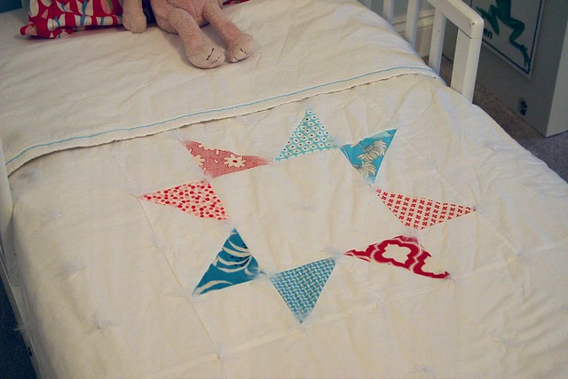 Lone Star toddler quilt