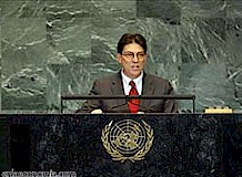 Cuban Foreign Minister Bruno Rodrigues Parrilla in a recent speech declared that there is no fundamental difference in US policy toward the socialist state since the election of President Barack Obama. by Pan-African News Wire File Photos