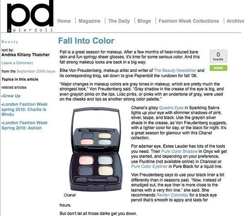 Fall Into Color | Papierdoll Magazine