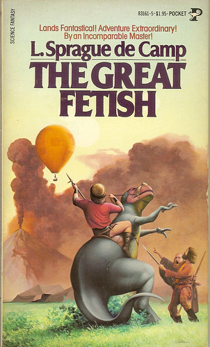 The Great Fetish - L. Sprague de Camp - cover artist Steele Savage