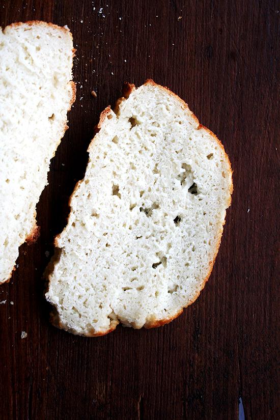gluten-free bread made with buttermilk