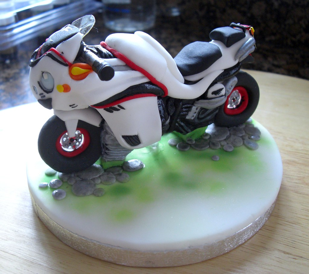 motorcycle cake topper the icing on the cake jo s most recent flickr photos 6052