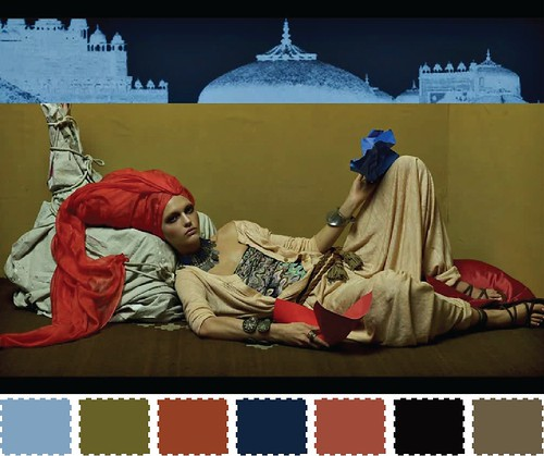 Vogue Italia Color Palette