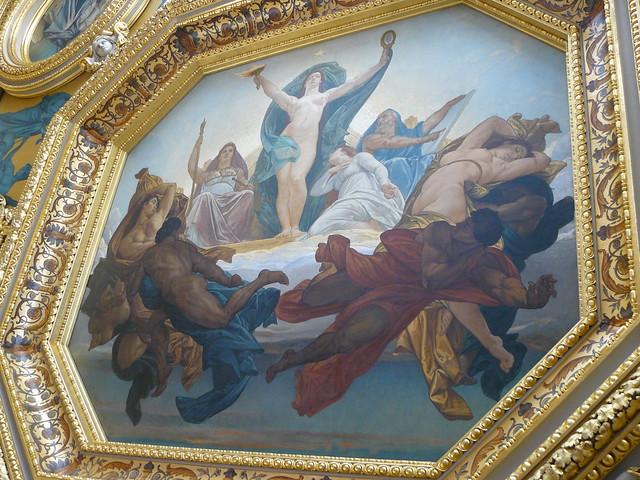 Plafond Peint Parlement De Bretagne Rennes 7 Explore
