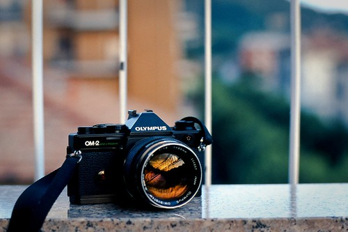 my Porn (OM2 SP and the Zuiko OM 55mm f/1.2)