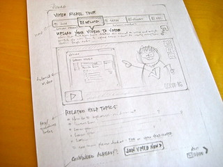 sketch: vimeo nickel tour page ideas