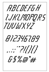 Typeface progress
