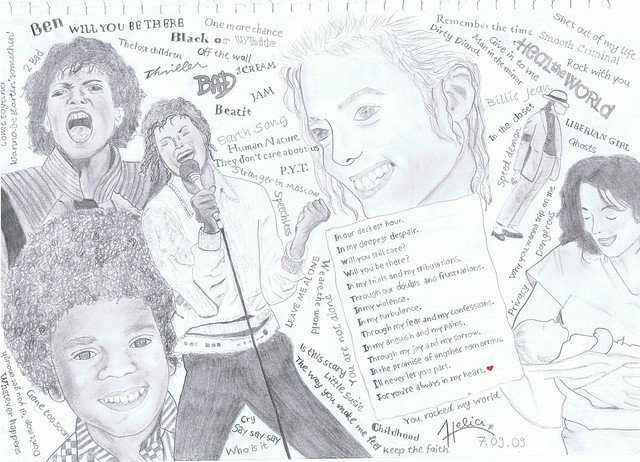 My own Tribute to Michael Jackson