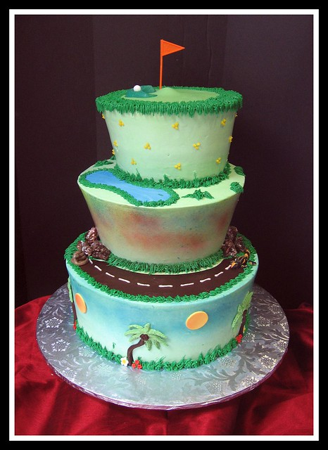 Golf Themed Cake Decorations