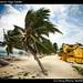 Beach road hotels, Caye Caulker