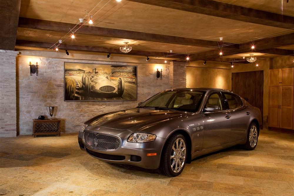 World 39 s most beautiful garages exotics insane garage for Stone garage designs
