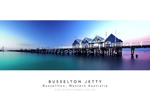 ocean sunset sea sky beach water buildings landscape geotagged pier jetty sony sigma australia wideangle wa 1020mm westernaustralia busselton busseltonjetty a350 sonya350 mathewsacco evokeimages geo:lat=33644349 geo:lon=115344032