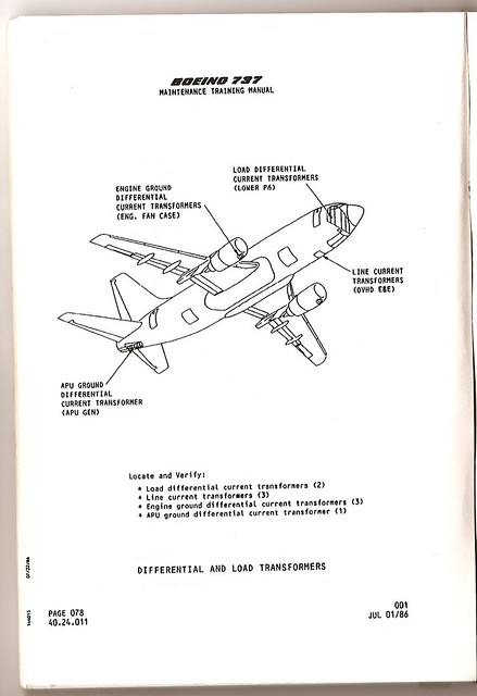Boeing Manual Drawing