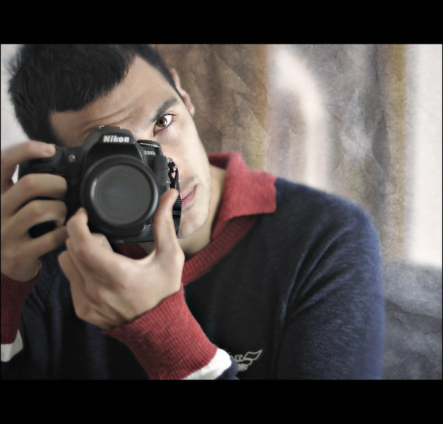 Me and my Nikon D300s (+50mm f1.4)