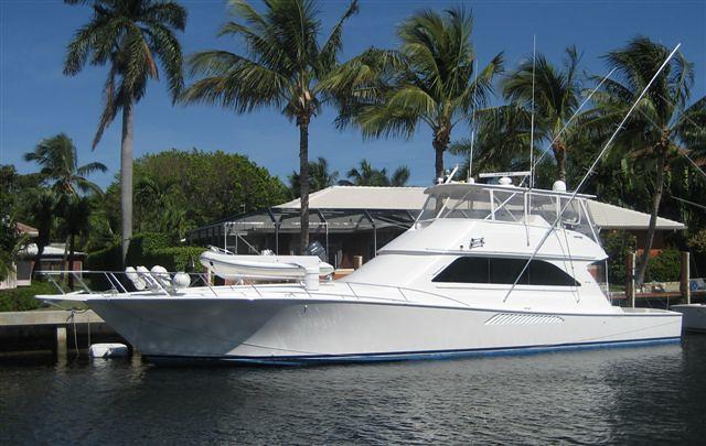2002 Viking 65 Convertible. Visit www.oceanblueyachtsales.com or call ...
