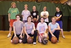 Slam Dunkin' Divas basketball group