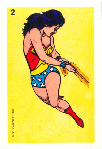 1978 Wonder Woman Whitman Cards 2