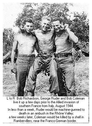 Valley Hi Kia >> GEORGE JOHN RUDER JR. (center) KIA WW2 August 18 1944 age ...
