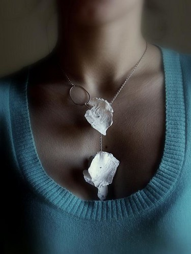 Plastic bags Necklace