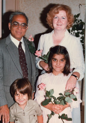 Alanna Shaikh's Family in the 1980s