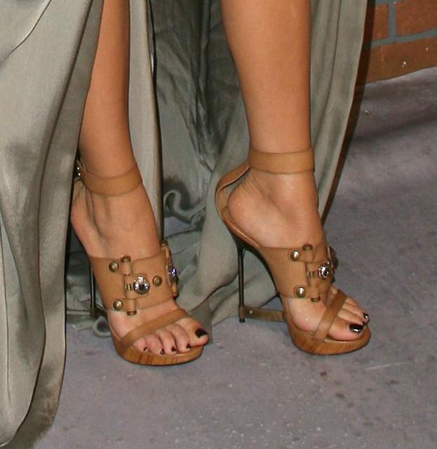 Blake Lively Feet for Pinterest