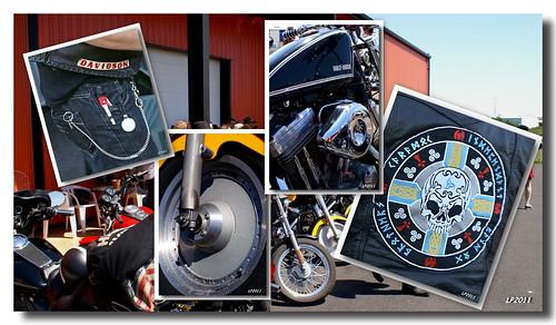 Harley Davidson pièces et sigles