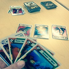 Nuts! #cardgame for lunch