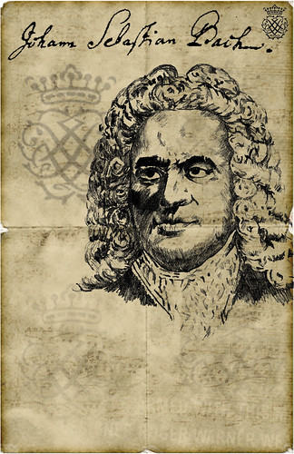 JS Bach by briangonzalez