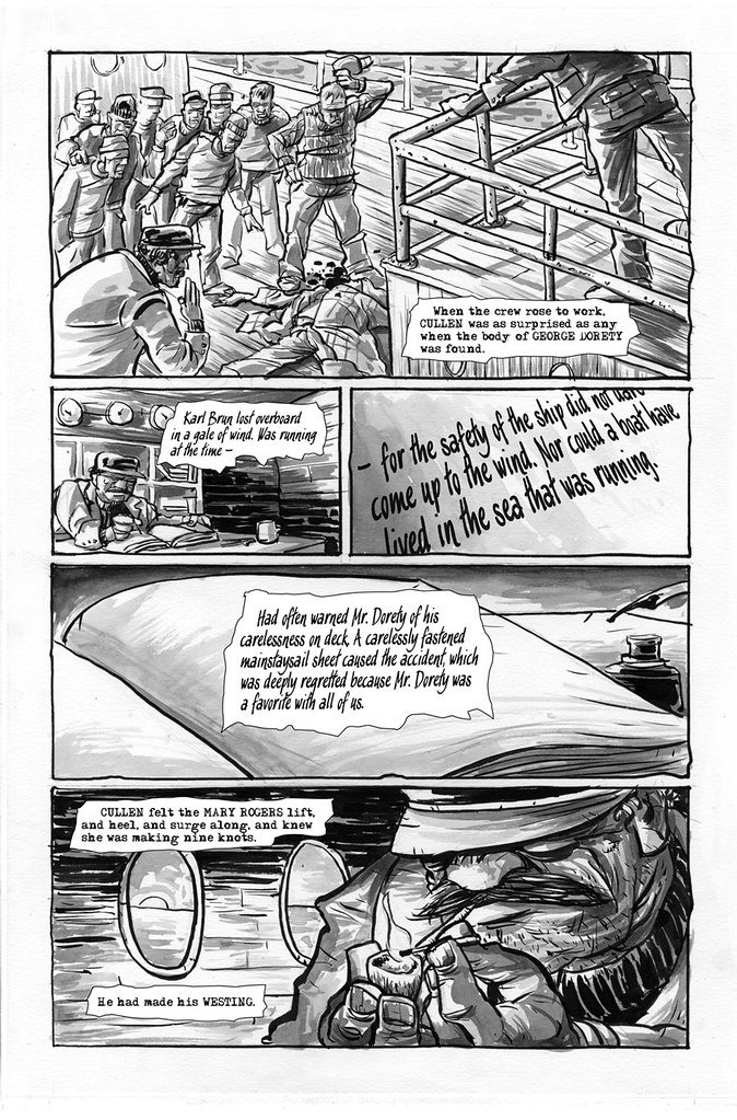 Make Westing page 12 illustrated by Anthony Peruzzo