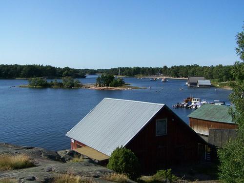suomi finland vatten hav åland båthus fritidsbåt