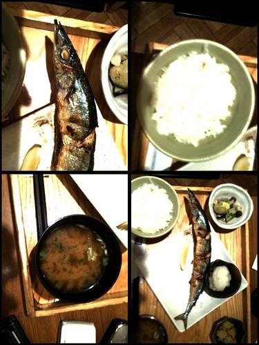 さんま定食 2009/10/01 Lunch20091001