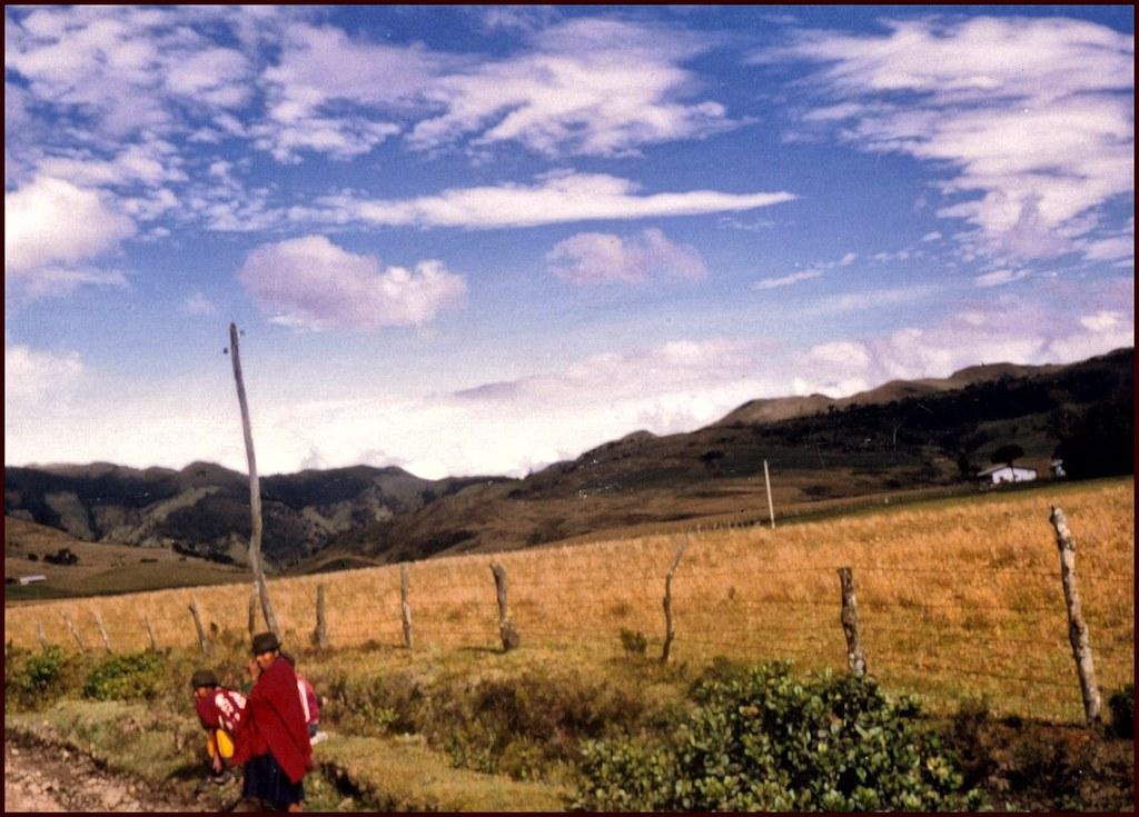 familia indigena paez Tierradentro Colombia