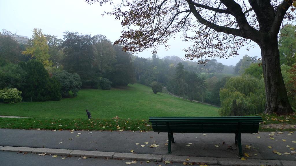 Autumn, Parc des Buttes Chaumont (Paris)